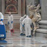 Vaticano desinfeta as Basílicas Papais para evitar contágios de coronavírus