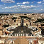 O Papa impõe o pálio ao Patriarca Latino de Jerusalém